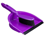 Purple Dustpan And Brush