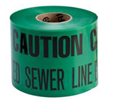 Warning Tape  (Caution Tap) Green