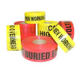 Warning Tape  (Caution Tap) Red